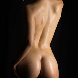 Sexy Curves by Panagiotis Assonitis - Nudes & Boudoir Artistic Nude ( studio, buttocks, body, model, nude, silhouette, sensuality, ass, beauty, skin, black background, erotic, sexy, slim, girl, figure, woman, shadow, attractive, dark, sexual, butt, wet, black, isolated, low key, art, beautiful, back, adult, women, young, human, sensual, female, naked, background, lady )