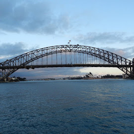 Sydney Harbour bridge by Anjuli Shankhwar - Buildings & Architecture Bridges & Suspended Structures (  )
