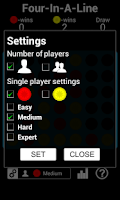 Screenshot of Four In A Line HD