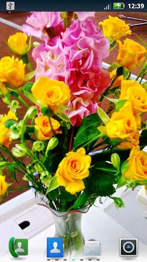 Floral Bouquets Live Wallpaper