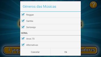 Screenshot of Qual é a Música