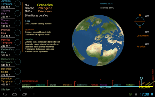 Eras Geologicas - screenshot
