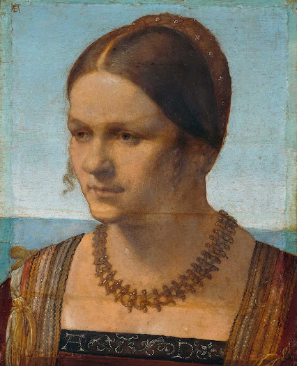 Durer Albrecht, giovane donna veneziana