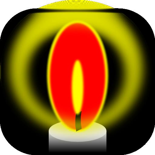 양초 플래시 LED LOGO-APP點子