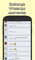 Screenshot of Chat Rooms for WhatsApp