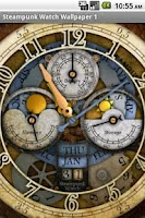 Screenshot of Steampunk Watch Wallpaper