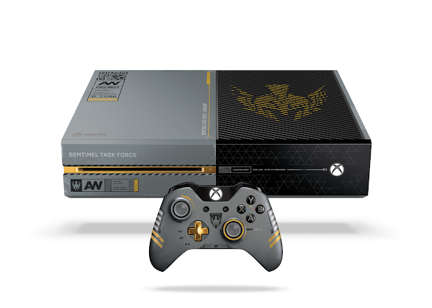 Limited Edition 1TB Call Of Duty: Advanced Warfare Edition Xbox One announced
