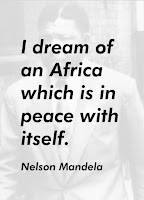 Screenshot of Mandela Quotes