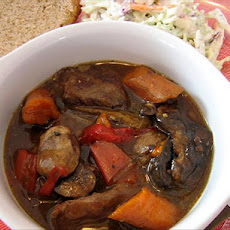 Crock Pot Beef and Mushroom Stew