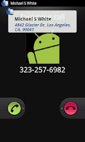Screenshot of callR ID - Identify callers