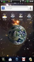 Screenshot of Map Pack Earth Live Wallpaper