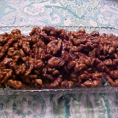 Spicy Maple Walnuts