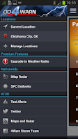 Screenshot of go4Warn by the 4Warn StormTeam
