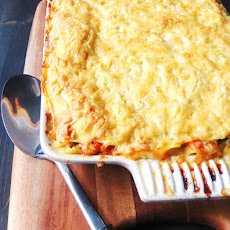 Seafood and Vegetable Lasagna