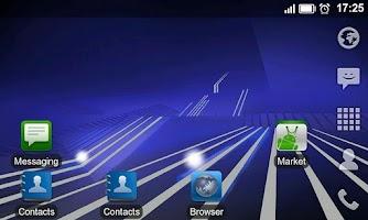 Screenshot of Honeycomb LiveWallpaper Donate