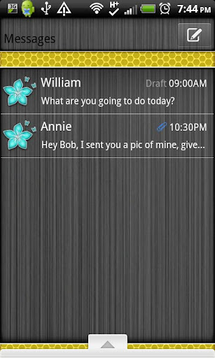【免費個人化App】GO SMS THEME/BeeHiveCPK-APP點子