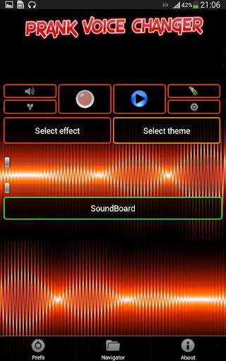 Voice Changer (Prank) PRO - screenshot