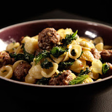 Beef Meatballs With Orecchiette, Kale And Pine Nuts