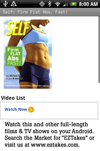 Self: Firm Flat Abs Fast