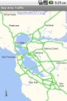 Screenshot of Bay Area Traffic