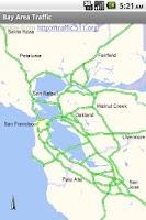 Screenshot of Bay Area Traffic