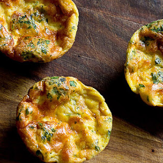 Mini Frittata Cups with Mascarpone and Prosciutto