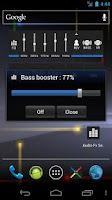 Screenshot of Audio Fx Widget