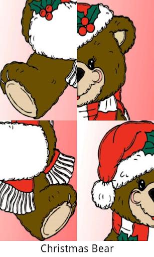 こどもクリスマスのパズルゲーム - 英語