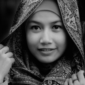 by Indra Kurniawan - Black & White Portraits & People