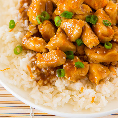 Lighter Orange Chicken