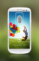 Screenshot of Fingerprint Screen Lock-KitKat