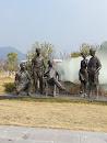 桂电建校纪念碑