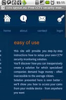 Screenshot of Free CCTV security monitoring