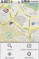 Screenshot of UCI Map