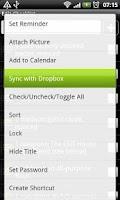 Screenshot of Simple Notepad Upload Addon