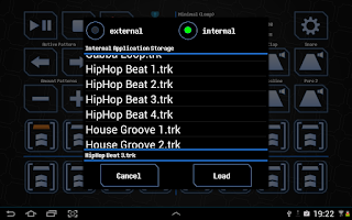 Screenshot of BoomBox - Drum Computer