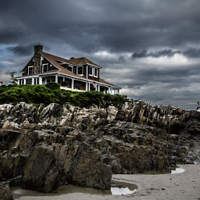 Kennebunk, ME by Habashy Photography - Landscapes Beaches ( clouds, maine, kennebunk, weather, beach )