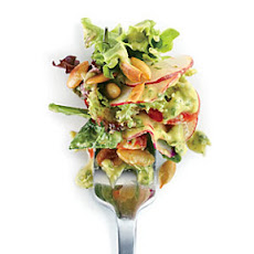 Radish Salad with Avocado Dressing