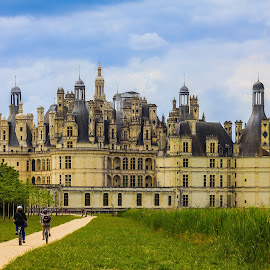 Chateau de Chambord by Gregory Ruderman - Buildings & Architecture Public & Historical ( bike, chambord, france, castle, chateau )