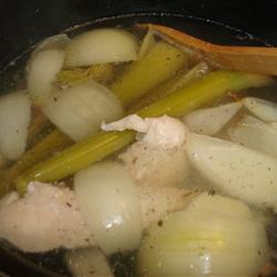 Grandma Egan's Chicken Stock