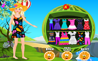 Screenshot of Fairy Princess Trip Dress Up
