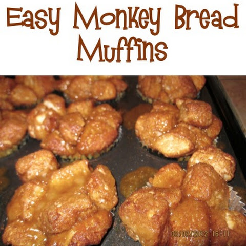 Easy Monkey Bread Muffins