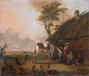 RIJKS: Jan Wouwerman: painting 1666
