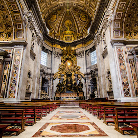 A Church in Rome by Matthew Haines - Buildings & Architecture Places of Worship
