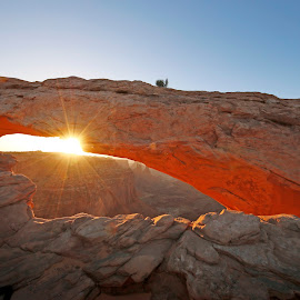 Mesa Arch Sunrise by Jon van Woerden - Landscapes Sunsets & Sunrises