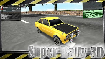 Screenshot of Super Rally - Racing Car 3D