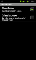 Screenshot of Offline Browser