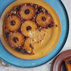 Peppered Pineapple Upside-Down Cake