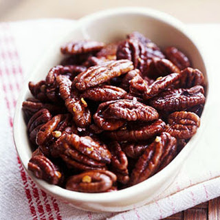 Pepper-Glazed Pecans