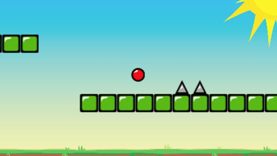 Red Bouncing Ball Spikes apk screenshot